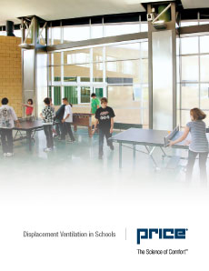Displacement Ventilation in Schools