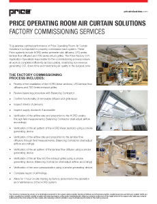 Factory Commissioning Services: Air Curtain System