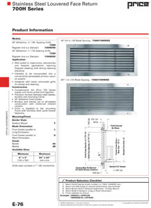 700H Catalog Page