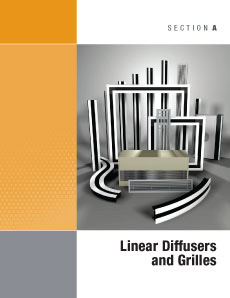 Linear Diffusers and Grilles Catalog