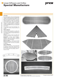 Linear Diffusers and Grilles - Specials