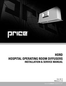 Hospital Operating Room Diffusers Manual