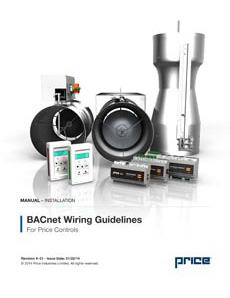 BACnet Wiring Guidelines for Price Controls Manual