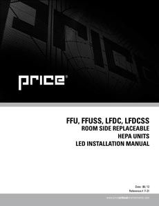 FFU/FFUSS/LFDC/LFDCSS LED Manual