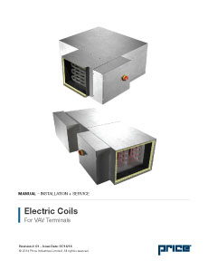 Electric Coils for VAV Terminals Manual