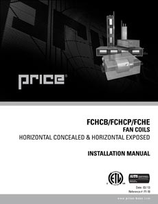 FCHCB/FCHCP/FCHE Manual