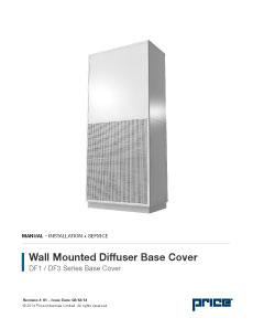 DF1/DF3 Base Cover Manual