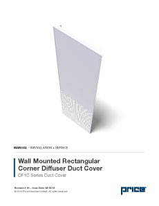 DF1C Duct Cover Manual
