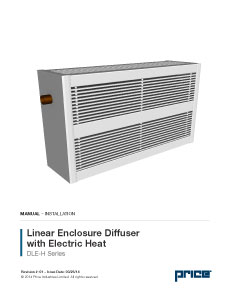 DLE-H with Electric Heat Manual