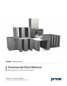 Commercial Duct Silencer Manual