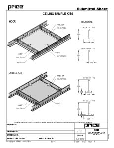 Ceiling Sample Kits