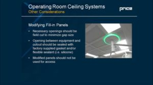 Operating Room Ceiling Systems