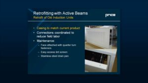 Retrofit Opportunities with Active and Passive Beams