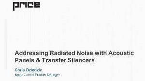 Addressing Radiated Noise with Acoustic Panels & Transfer Silencers