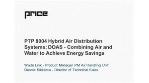 Hybrid Systems - DOAS - Combining Air and Water to Achieve Energy Savings