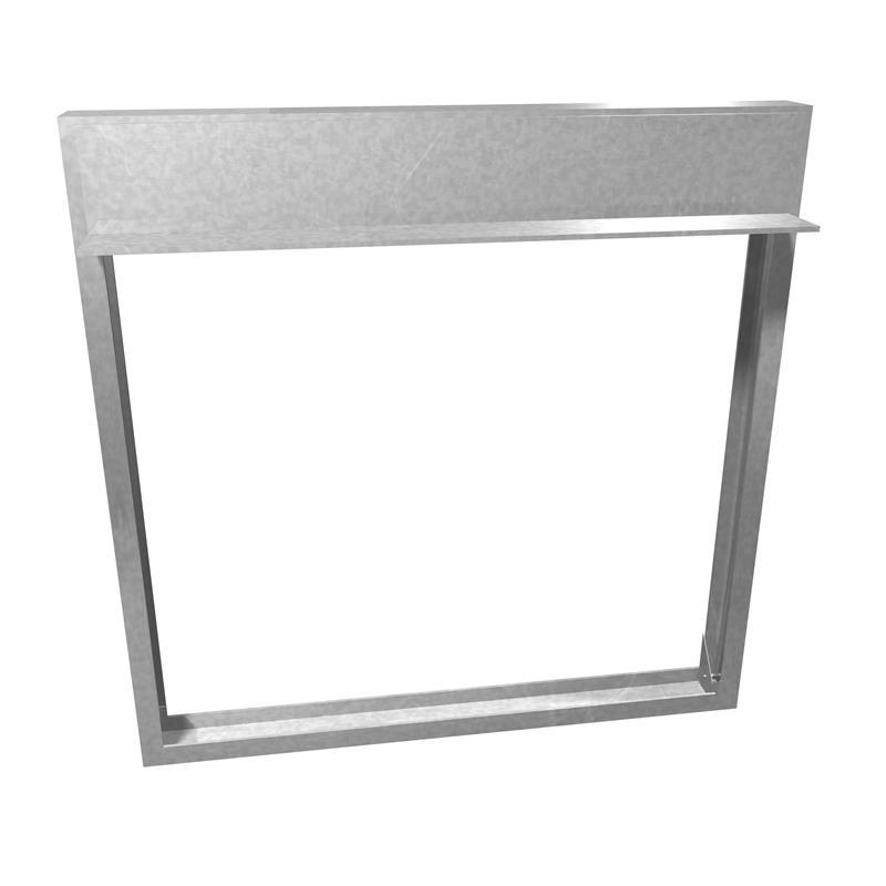 1.5, 3 Hr / B Style / Slimline Frame Dynamic Fire Damper