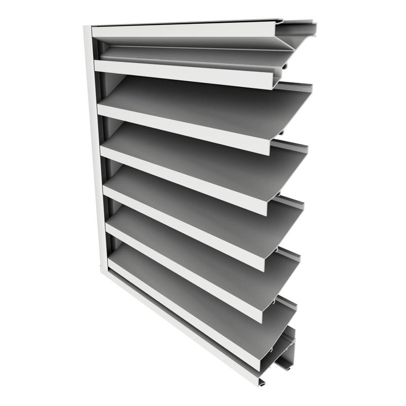 louvers natural ventilation. Black Bedroom Furniture Sets. Home Design Ideas