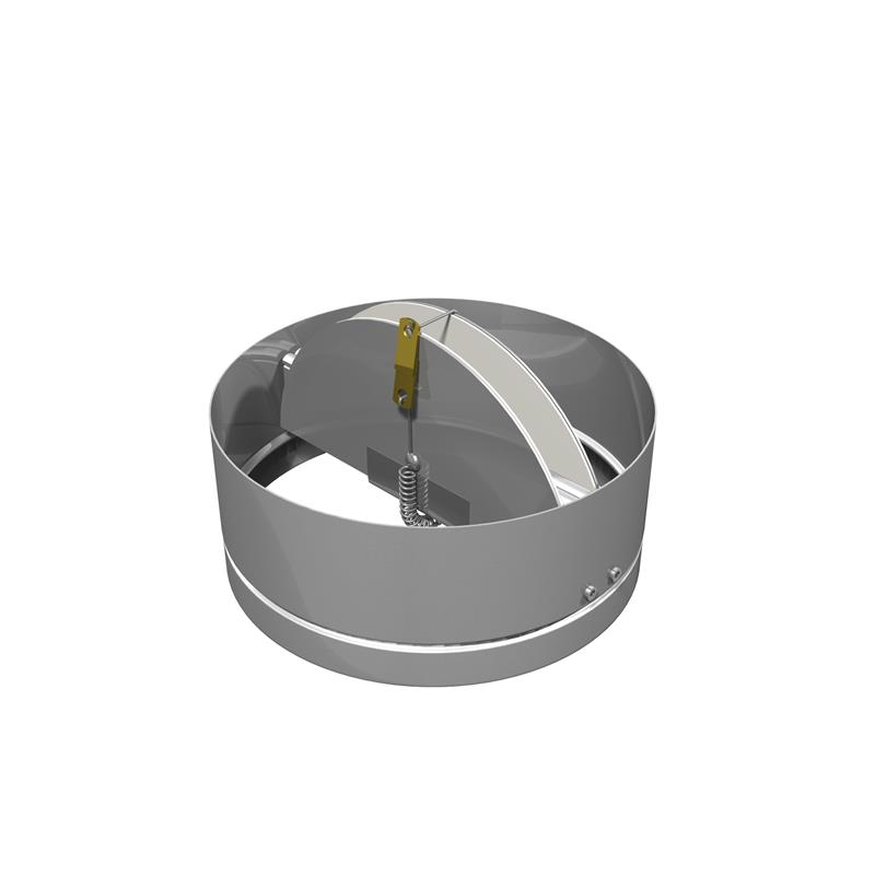 Butterfly Style Round Damper Dampers Price Industries