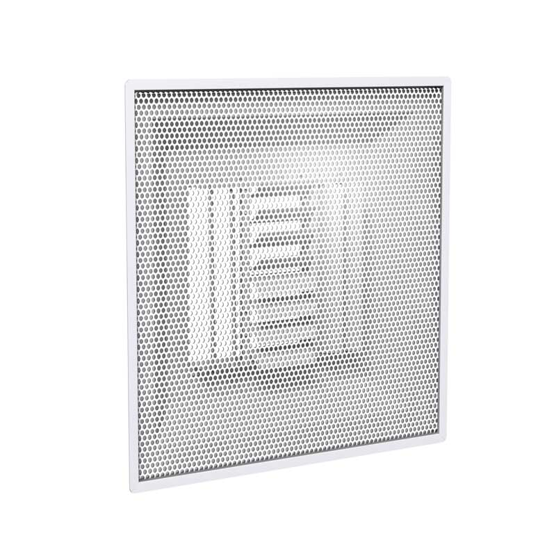 Perforated Face Supply Diffuser Curved Pattern