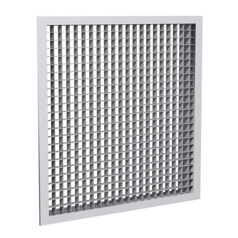 Metal Egg Crate Grille : Grilles