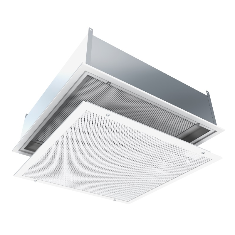 Flush Face Radial Flow Diffuser With Hepa Filter