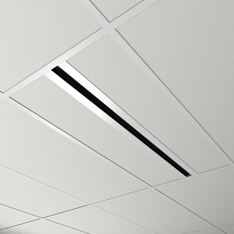 Linear Diffuser With Damper : Diffusers