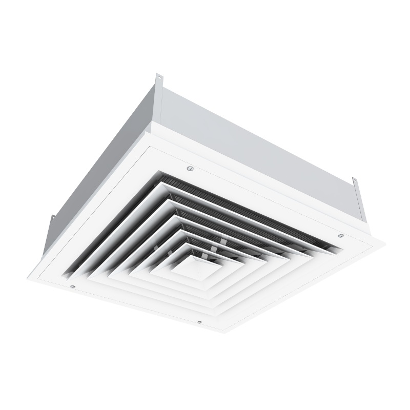 Louvered Face Diffuser With Hepa Filter Critical