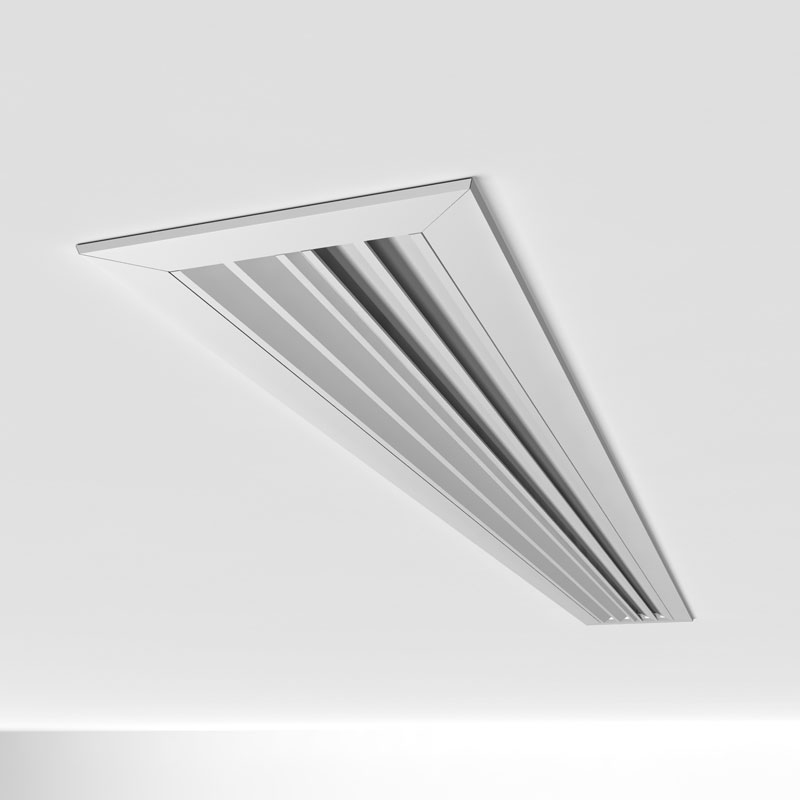 2 Linear Ceiling Diffuser : Diffusers