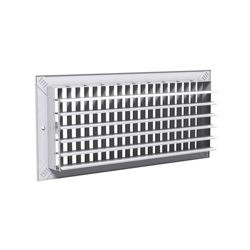Wall Grille With Opposed Blade Damper : Grilles