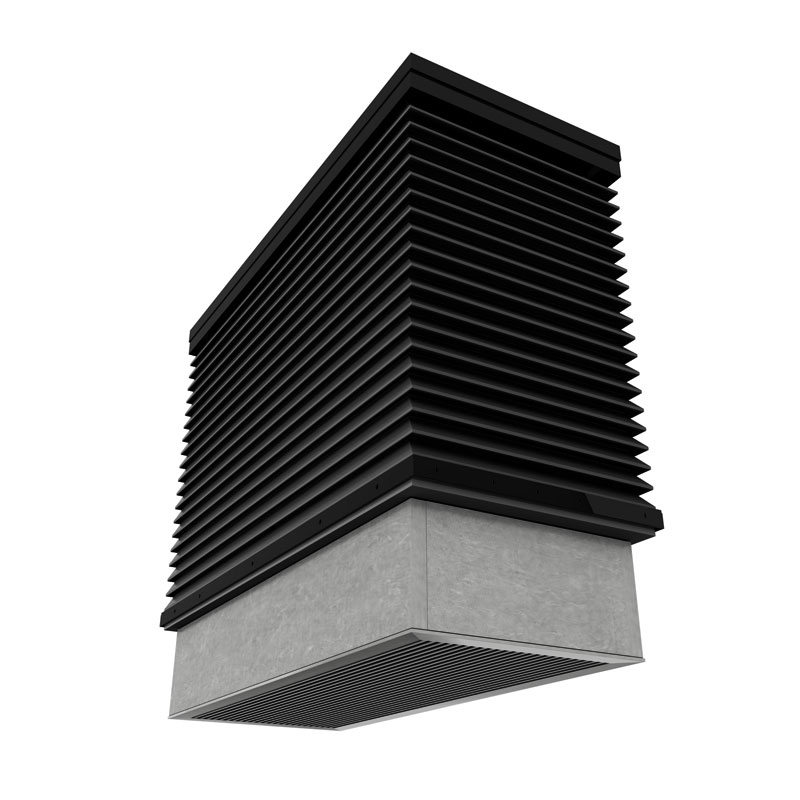 Roof Mounted Natural Vent Louvers Price Industries