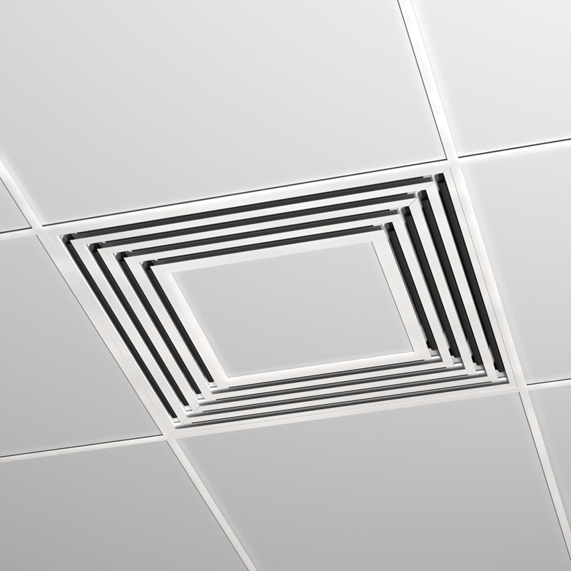 Linear Slot Diffuser 4 : Way ceiling diffuser pranksenders