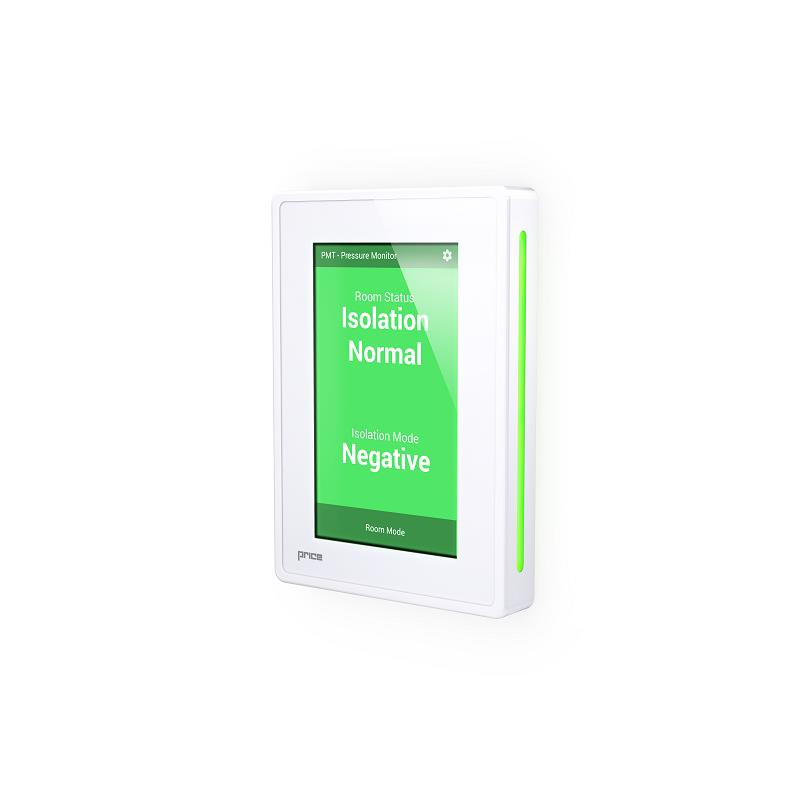 touchscreen room pressure monitor price industries the science of comfort. Black Bedroom Furniture Sets. Home Design Ideas
